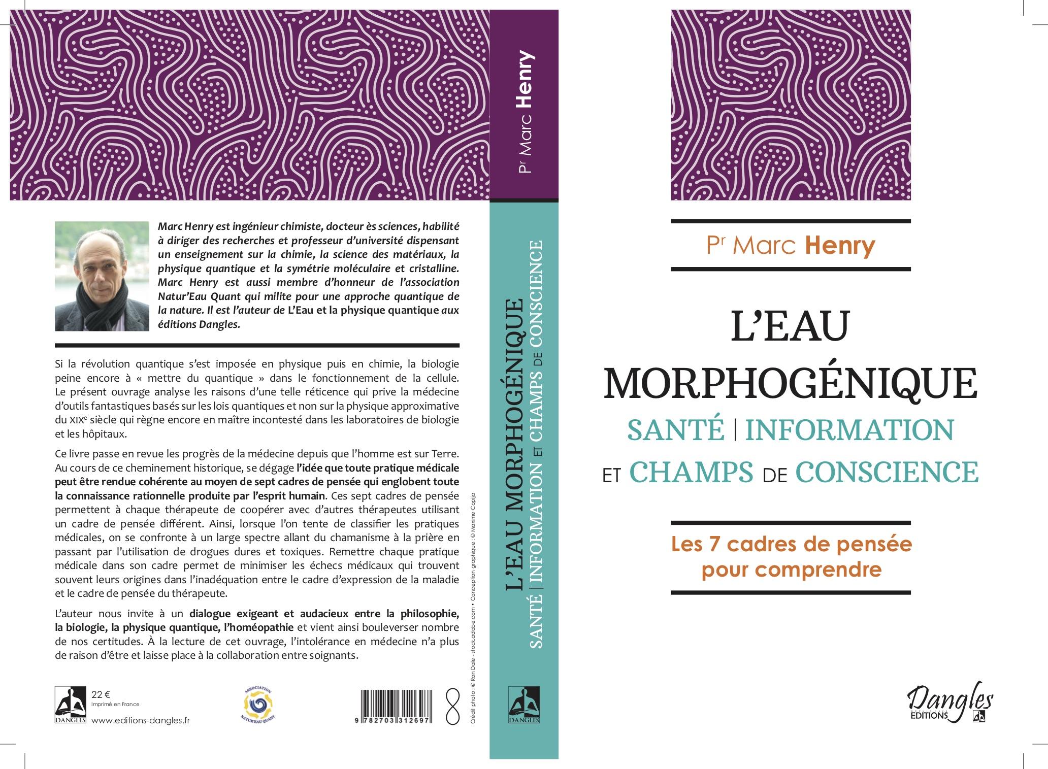L′Eau Morphogénique | Sortie Septembre 2020