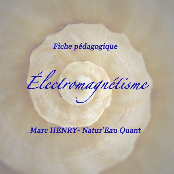 """Fiche pédagogique """" Électromagnétisme"""""""
