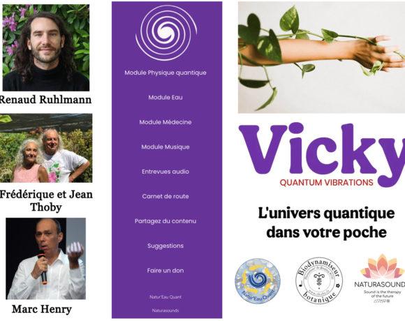 50•Une application nommée «Vicky»